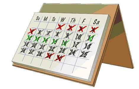 Как посчитать день менструального цикла