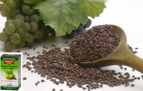 Целебное масло из виноградных косточек