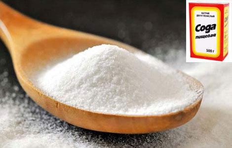 Лечение пищевой содой