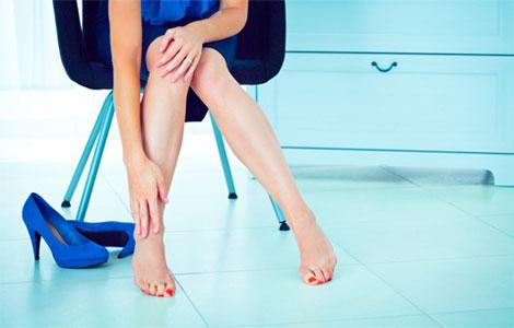 Как избавиться от усталости в ногах