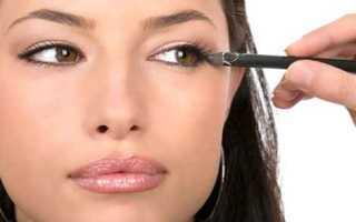 Как правильно красить глаза подводкой