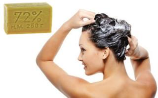 Хозяйственное мыло для волос