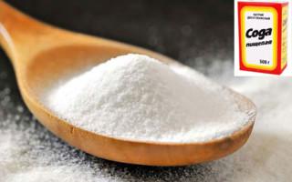 Применение пищевой соды влечебных целях