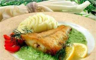 Рецепт филе окуня в луковом соусе