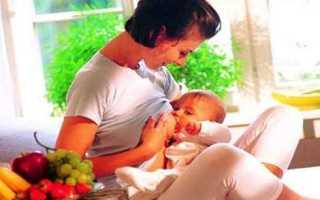 Рацион питания для кормящей матери