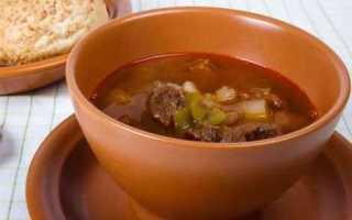 Рецепт суп гуляш по венгерский