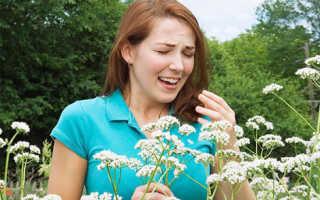Поллиноз симптомы и лечение