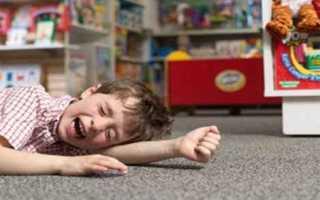 Неврозы (истерический припадок) у детей, симптомы