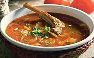 Как готовить суп харчо из говядины