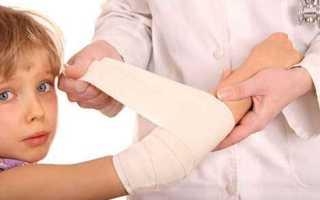 Как правильно обработать рану