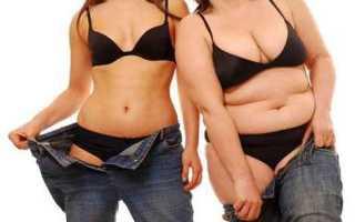 Как убрать жир с живота в домашних условиях