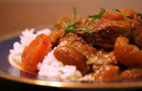 Рецепт тушеная баранина с рисом