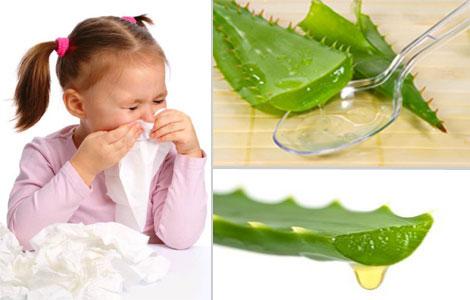 Капли в нос из алоэ для ребенка